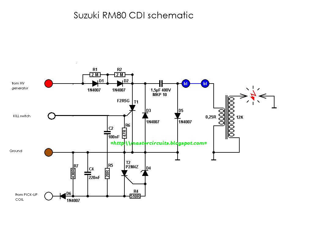 8 wire cdi box diagram