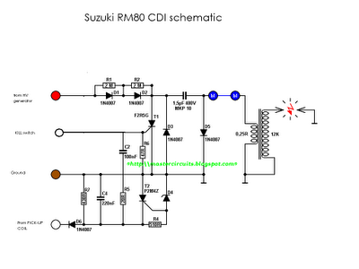 CDI Schematic   Techy at day, Blogger at noon, and a