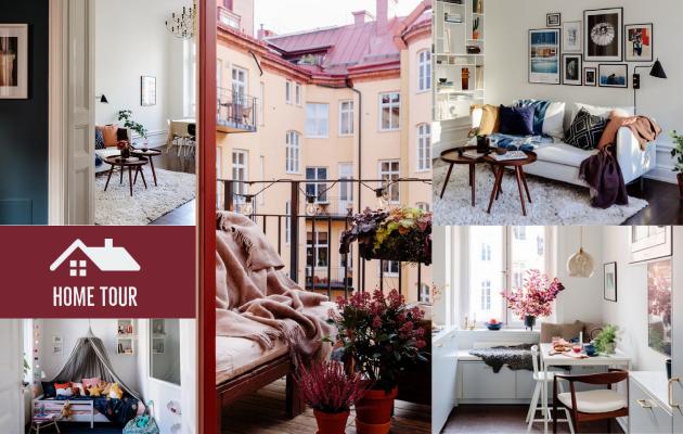 Φωτεινό Σκανδιναβικό στυλ σε διαμέρισμα του 1900