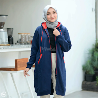 Hijacket Basic Navy x RED HJ-3