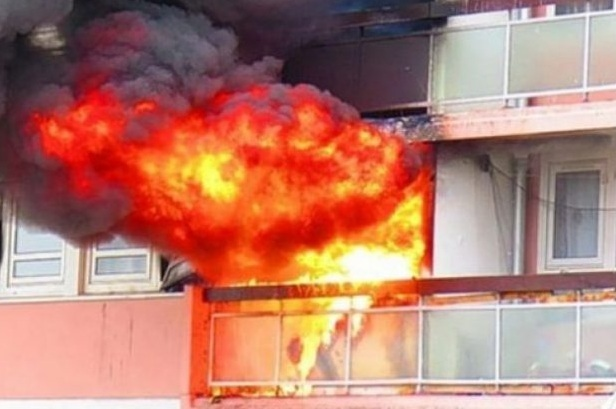 Fire in a flat in the Cable Car area of Tirana, family head injured