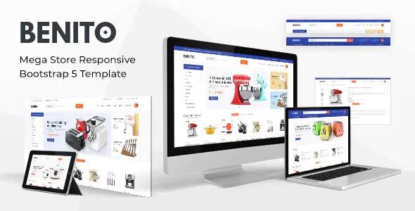 Best Mega Store Responsive Bootstrap 5 Template