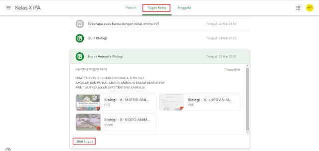 Cara Menjawab Tugas Berupa File di Google Classroom