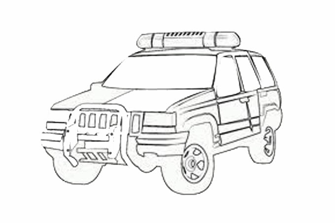 سيارة اطفاء رسم سيارة الدفاع المدني