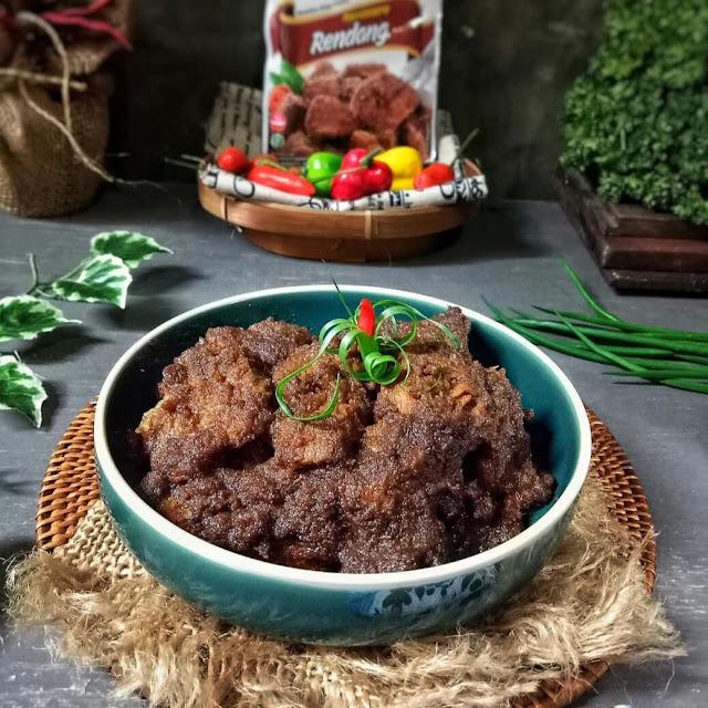 Resep Membuat Rendang Daging Sapi Empuk Spesial Padang