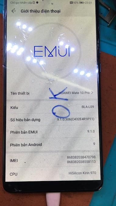 Huawei Mate 10 Pro BLA-AL00 Convert Global BLA-L09 BLA-L29