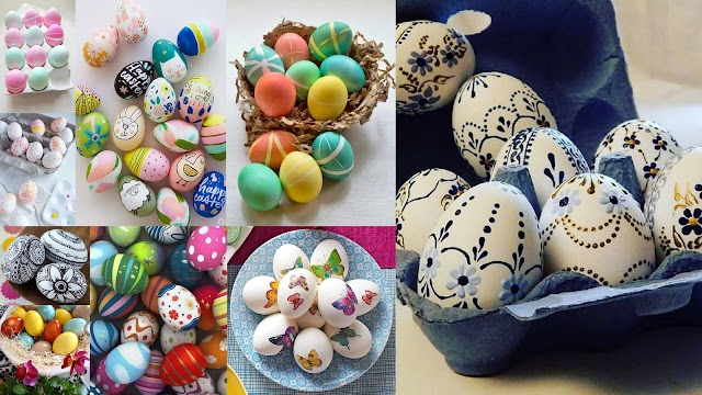 15 Τρόποι - τεχνικές για να βάψετε πασχαλινά αυγά