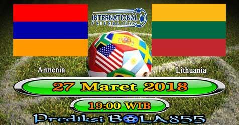 Prediksi Bola855 Armenia vs Lithuania 27 Maret 2018