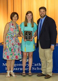 Montgomery Catholic Preparatory School Academic Awards Ceremony Held in May 11