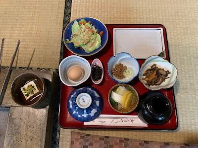 別館山の宿 朝食
