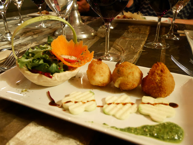 arancini at Mediterraneo, Italian restaurant Brighton