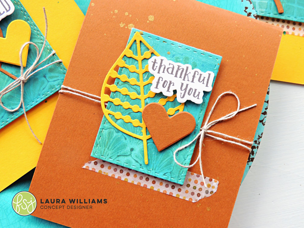 Lauralooloo 4 Cards For Fall To Say Thank You