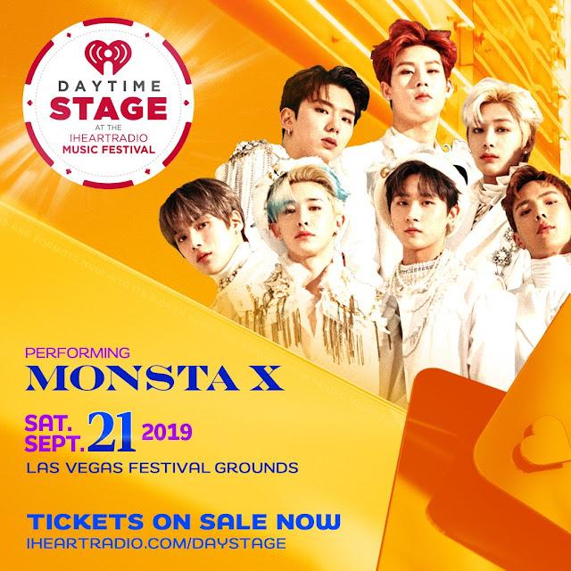 MONSTA X 몬스타엑스 en iHeart Radio Music Festival