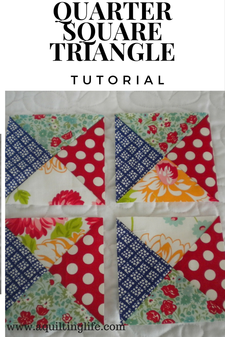 http://www.aquiltinglife.com/2014/04/easy-quarter-square-triangle-tutorial.html