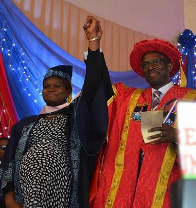 Elizabeth Orefuwa: Lasu Best Graduating Student 2017
