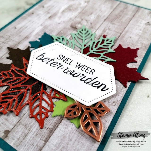 Stampin' Up! Come gather together dsp en seasonal layers dies