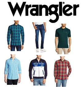 Wrangler Men's Clothing – Minimum 50% Off @ Amazon