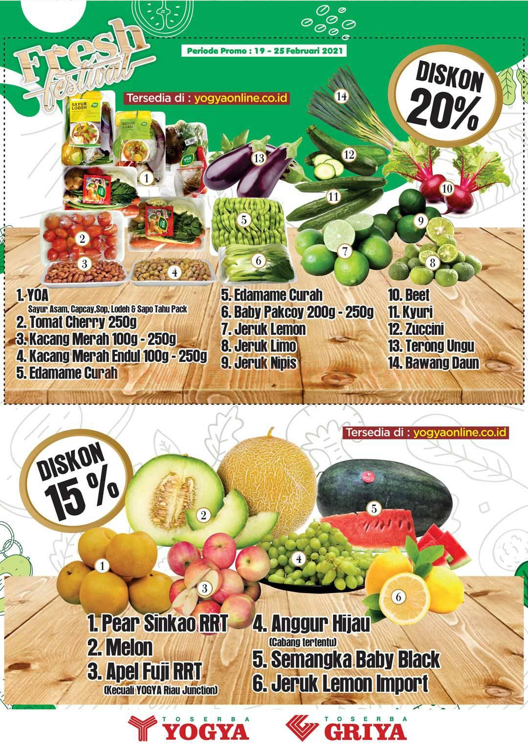 Katalog Promo Toserba Yogya 19 Februari - 4 Maret 2021 2