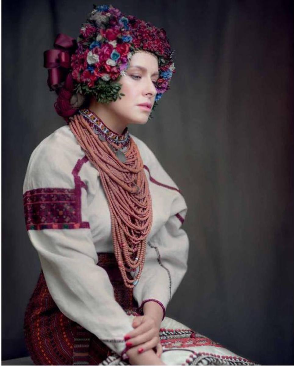 Картинки украинки в национальном костюме