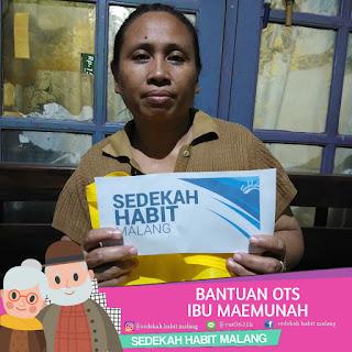 Ibu Maemunah : Bantuan OTS