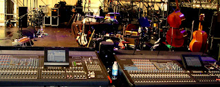 mixer digitale PM5d cascade Capossela calexico live on stage