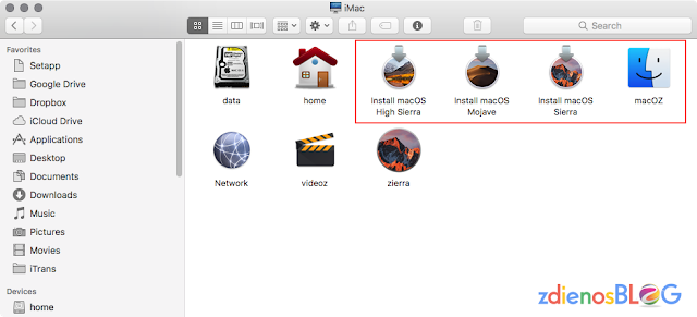 multi partition installer mac os - Membuat Installer USB Mac OS 10.14 Mojave