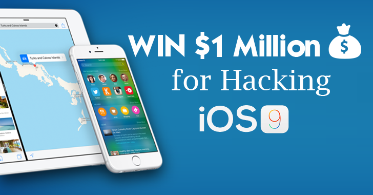 WIN $1 Million Bounty For Hacking the New iOS 9 iPhone
