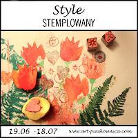 http://art-piaskownica.blogspot.ie/2017/06/style-styl-stemplowany-edycja.html