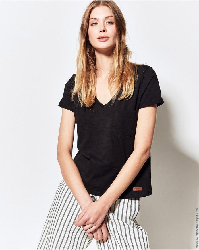 Remeras primavera verano 2020 moda mujer.
