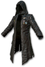 Кожаное пальто PLAYERUNKNOWN (Trench Coat Skin)