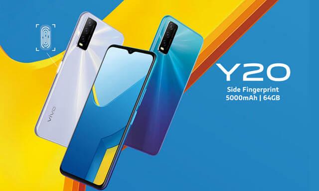 مواصفات وسعر هاتف فيفو واي vivo Y 20