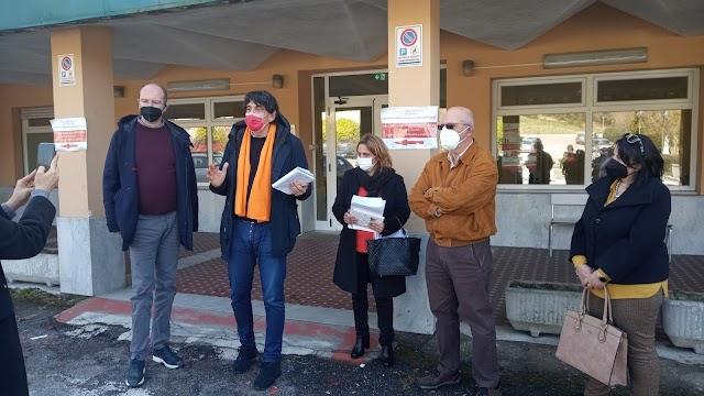 Incontro di Carlo Tansi con i componenti del Comitato Pro Ospedale del Reventino - VIDEO