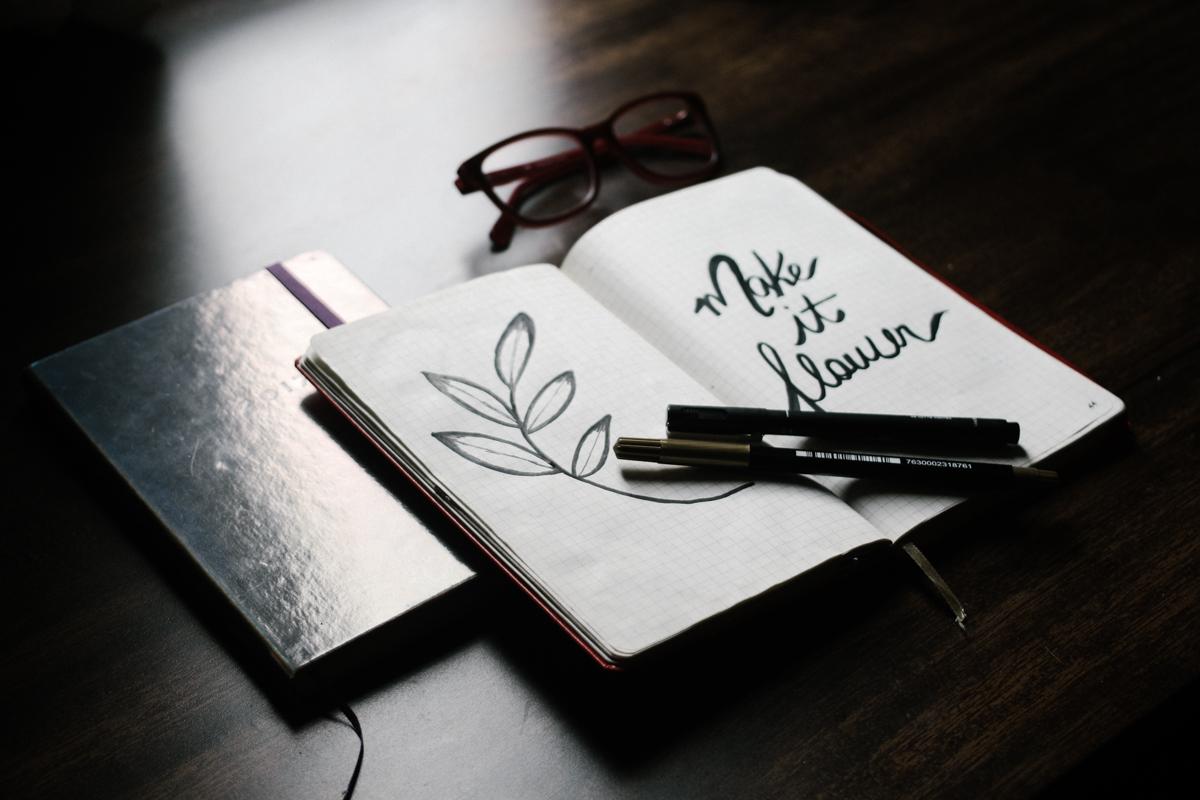 bullet journal: aprendendo a improvisar / coffee & flowers blog