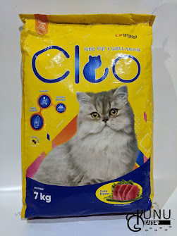 Kemasan Makanan Kucing Cleo Tuna 7kg