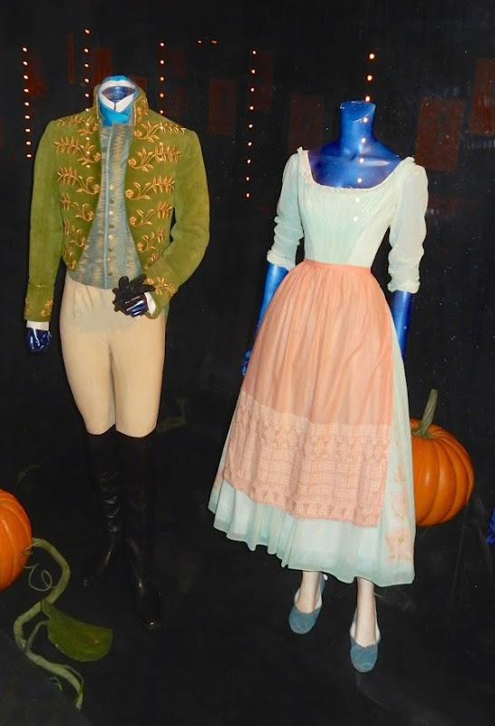 Prince Kit and Cinderella movie costumes