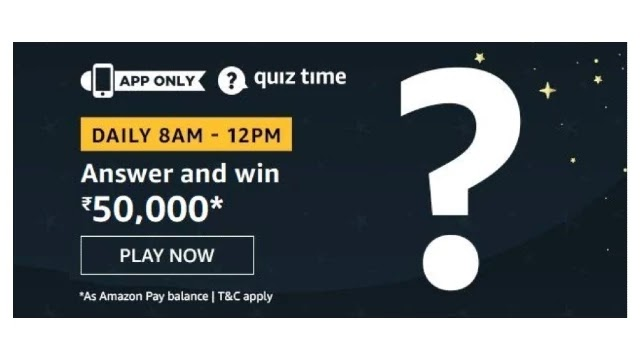Amazon-Quiz-Answers-For-Today-18th-May-2020-Win-Rs.50000-Pay-Balance