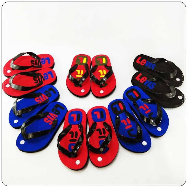 Peluang Bisnis Grosir Sandal || AB Levis Simplek Baby