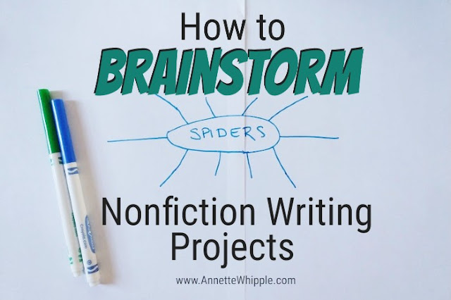 How to brainstorm nonfiction writing projects