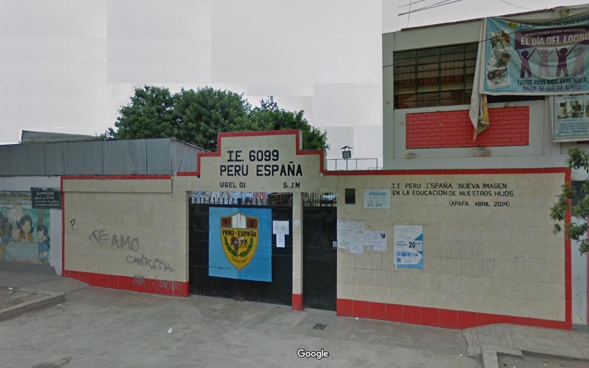 Colegio 6099 PERU ESPAÑA - Villa El Salvador