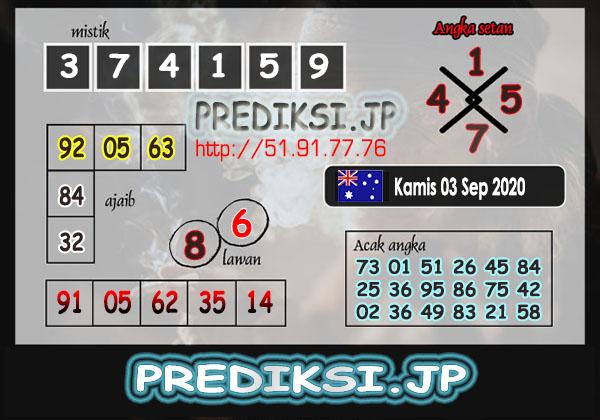 Prediksi JP SD Kamis 03 September 2020