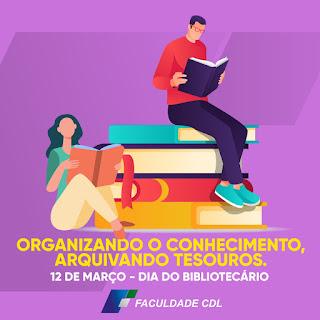 Dia do Bibliotecário Faculdade CDL