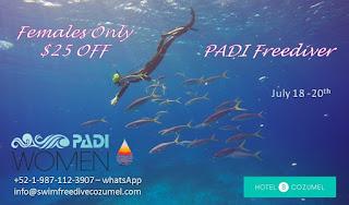 PADI Womens Dive Day Cozumel