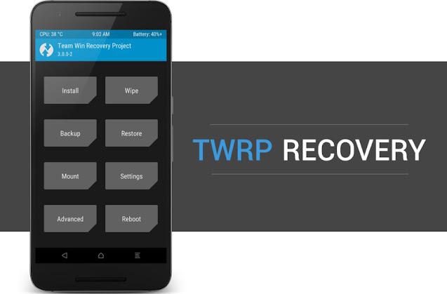 Cara Instal TWRP di Lenovo K5