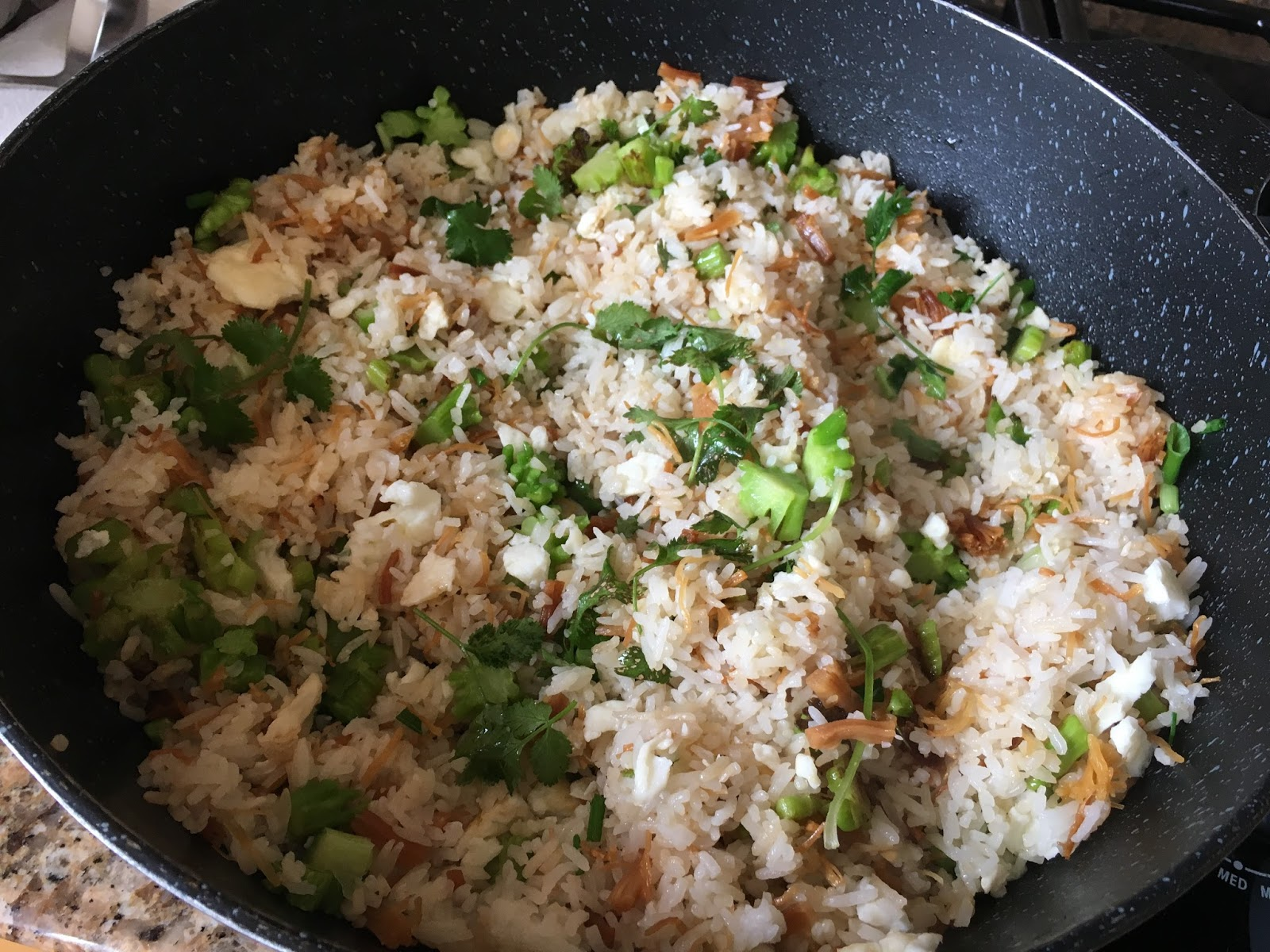 Dried scallop egg white fried rice ma nutrition dried scallop egg white fried rice ccuart Choice Image