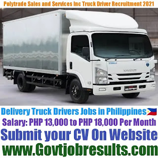 Polytrade Sales and Services Inc Delivery Truck Driver Recruitment 2021-22