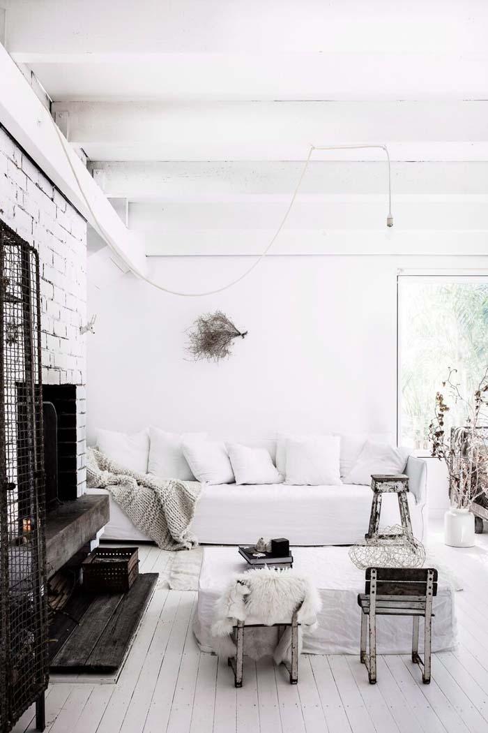 Valkoista, rustiikkia ja kesäistä
