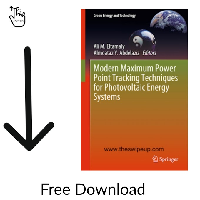 Modern Maximum Power Point Tracking Techniques for Photovoltaic Energy Systems Ebook Free Download