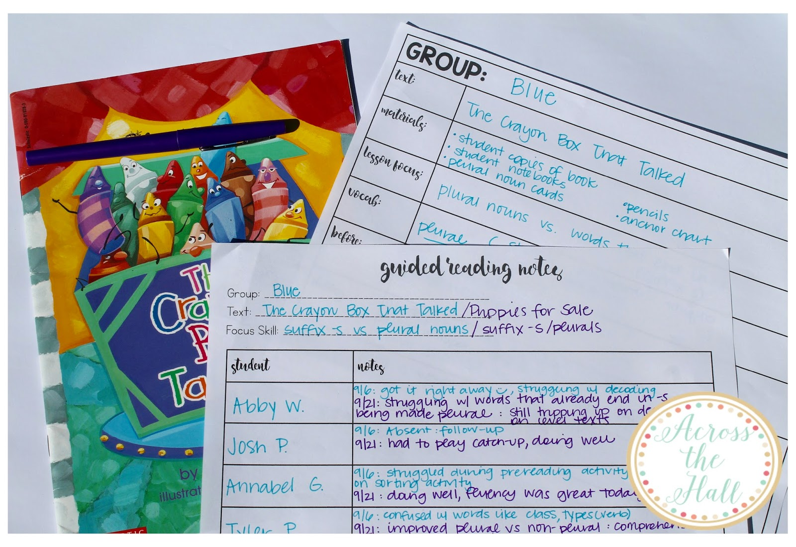 how to do a guided reading lesson