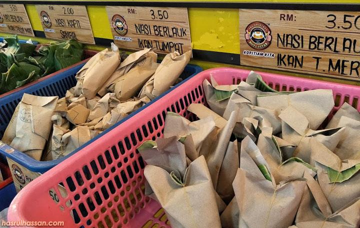 Menu lain di Kopitiam Kita, kedai makan popular untuk breakfast di Kota Bharu