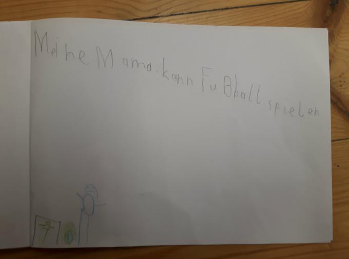 Schülerarbeiten - Meine Mama ist eine Superheldin